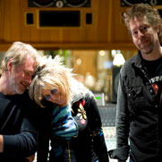 EL, Lucinda Williams, and Tom Overby
